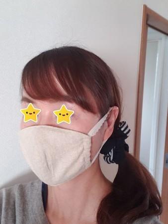 手作りマスク1
