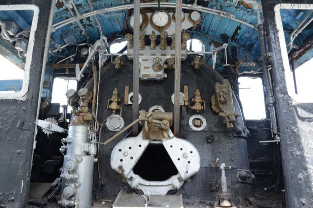 Photos: D51 10号機 運転台