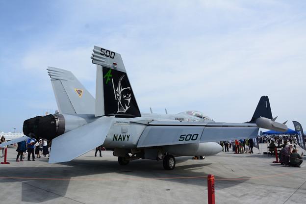 EA-18G ダース・ベイダー塗装機2
