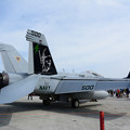写真: EA-18G ダース・ベイダー塗装機2