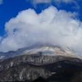 Photos: 雪山を覆う雲