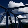 Photos: 夏空と鉄橋