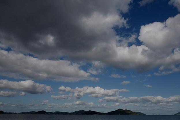 どこまでも流れる雲