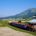 Photos: トロッコ列車現る