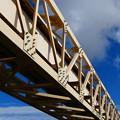 Photos: 青空に架かる橋