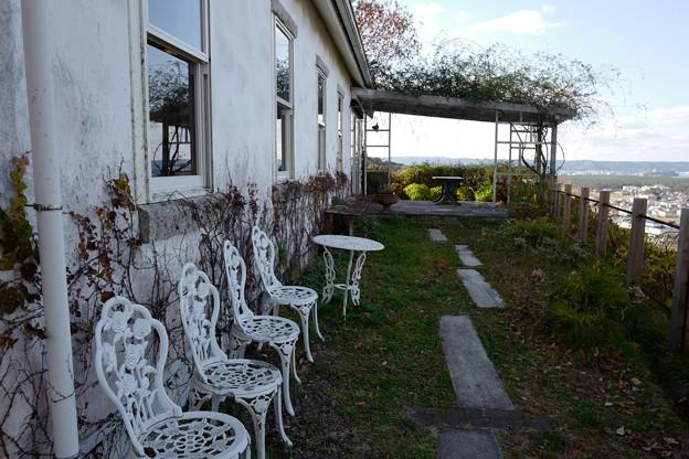 レストランの庭