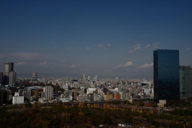 大阪城・天守閣からの風景1