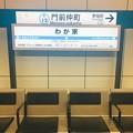 Photos: わが家駅?!ほっこりする看板??@門前仲町