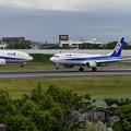 Photos: B737-800とB777-200