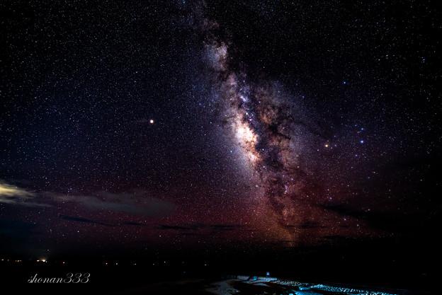 写真: 天の川銀河