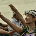 写真: お台場でフラダンス (2)