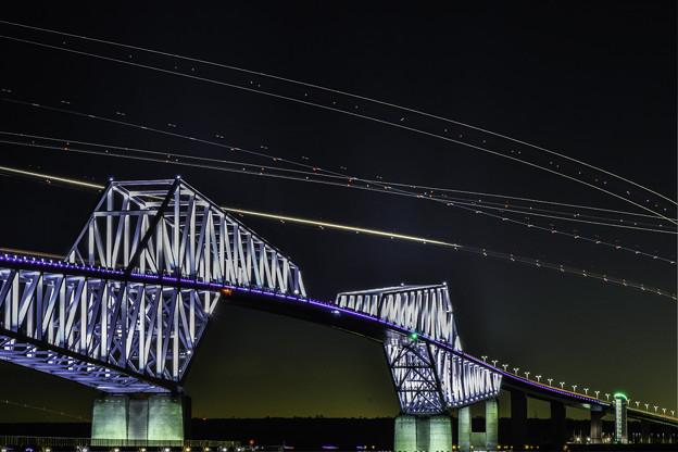 Photos: 夜のゲートブリッジ