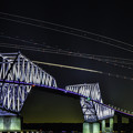 夜のゲートブリッジ
