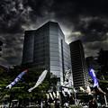 Photos: 六本木に舞う「ミッドタウン」