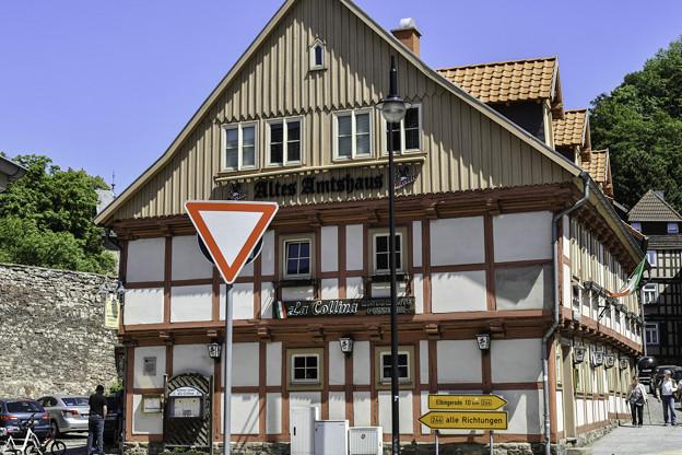 木組みの家「町で一番古い家」