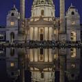 写真: カールス教会「ウィーン」
