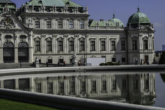 ベルヴェデーレ宮殿上宮 (2)