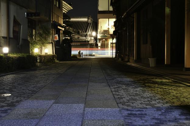 光跡「夜の川越」