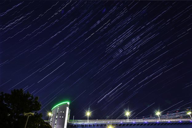東京の星空