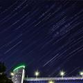 写真: 東京の星空
