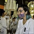 写真: 祭りの女