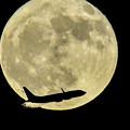 写真: 満月の日(2018-10-25)