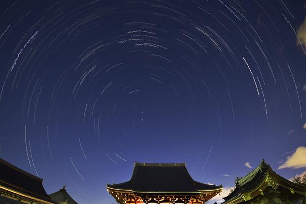 東京の星空「池上本門寺」
