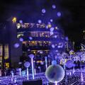Photos: 夜空にシャボン玉