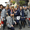Photos: 女神輿「勢揃い」