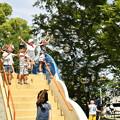 Photos: 夏空に舞う