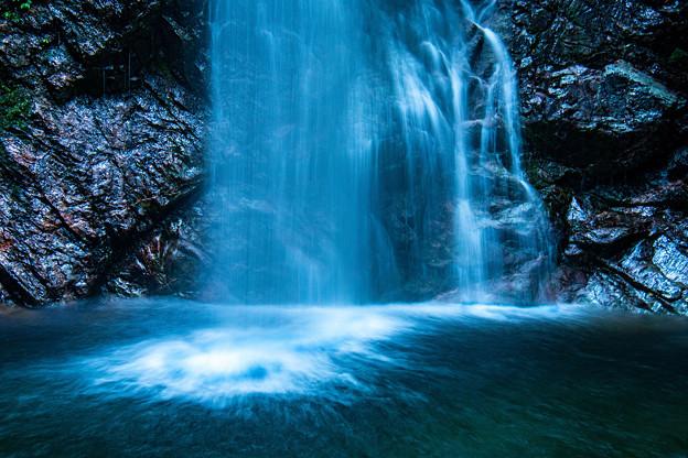 Photos: 滝つぼ「払沢の滝】