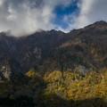 秋景鳥甲山