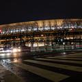 Photos: 完成まじかな新国立競技場