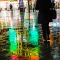 Photos: 雨の歩道