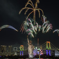 Photos: レイボー花火