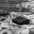 Photos: 引き波