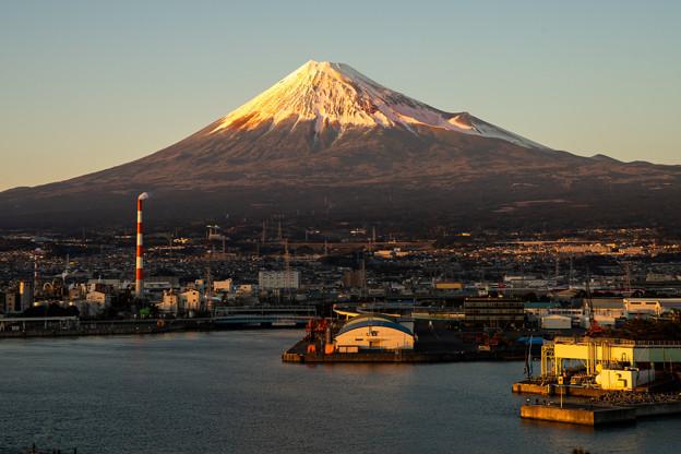 富士山の日「田子の浦」PM5.21