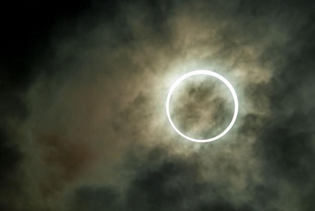 金環日食 2012-5/21