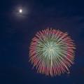 月夜の花火