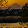 Photos: 昨夕富士山