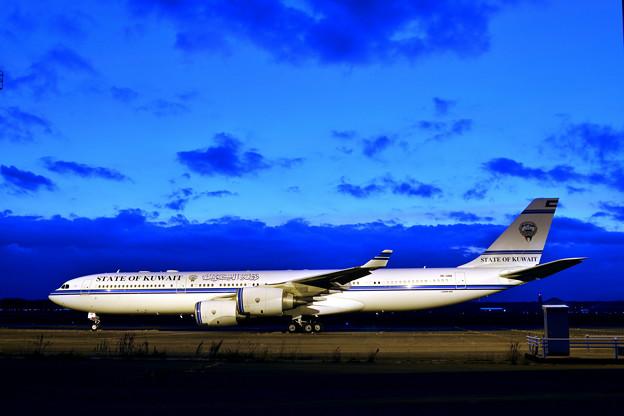 A340‐500 9K-GBB クエート政府