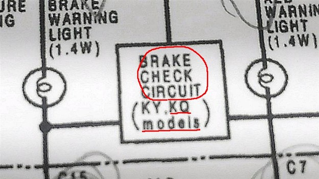 BRAKE  CHEKING  CIRCUIT