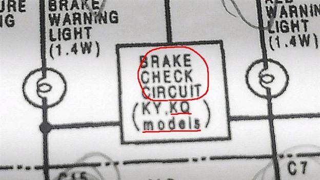 BRAKE  CHEKING  CIRCUIT