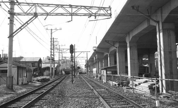 昭和53年 南海線湊駅付近