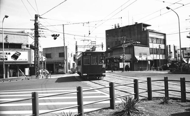 S53 阪堺線綾ノ町停留所付近