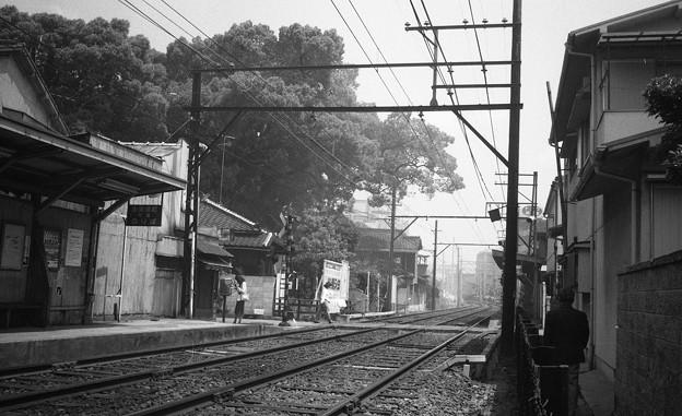 S55 阪堺線 天神ノ森停留所