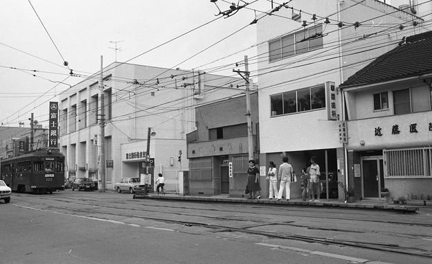 阪堺線住吉停留所2