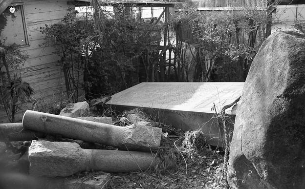 旧大阪窒業事務館 記念碑