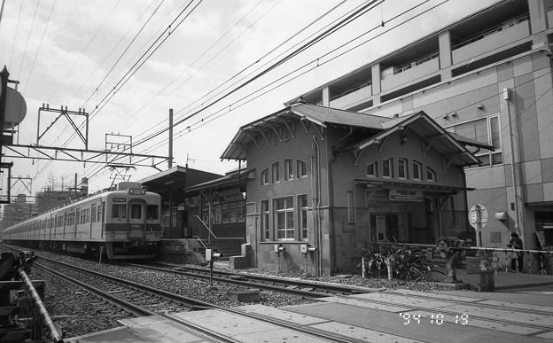 南海本線諏訪ノ森駅
