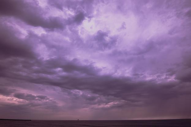 また台風が・・・